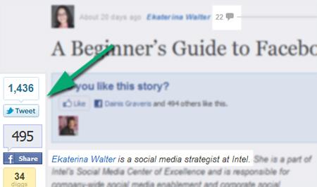 Social-media effect