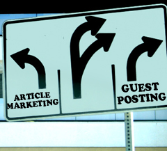 Guest Blogging Versus Article Marketing: What Really Works?