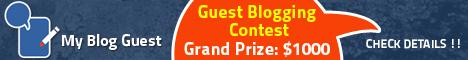 blogging contest
