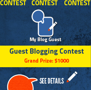 guest blogging contest