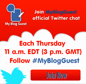 Join MyBlogGuest Twitter chat!