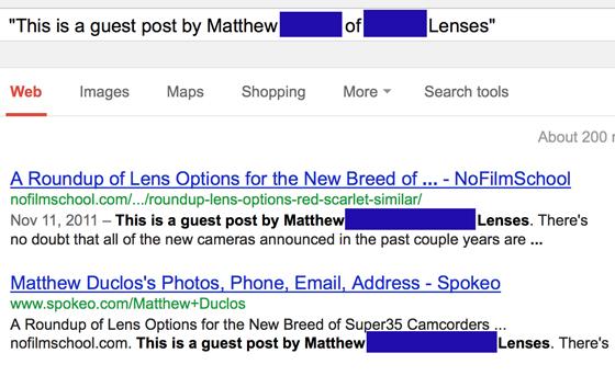Guest post bylines: original
