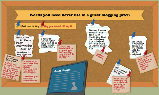 Guest Blogging: Pitch