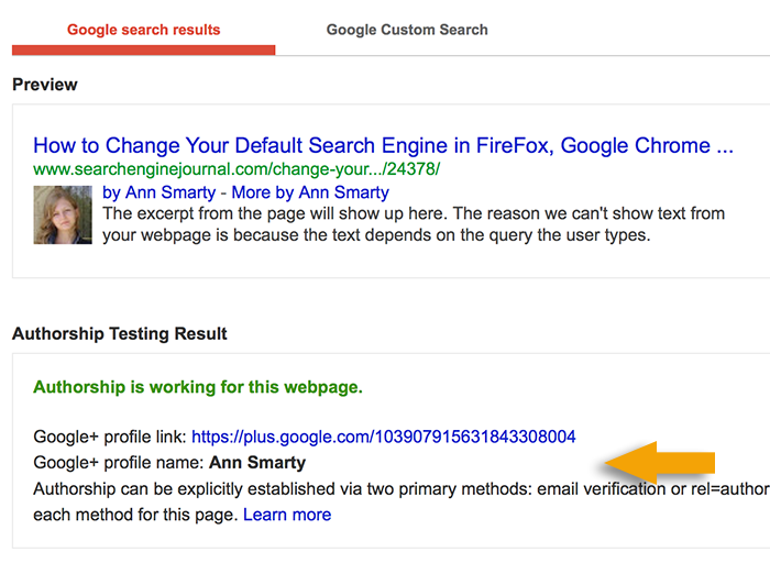 Rich Snippets tool