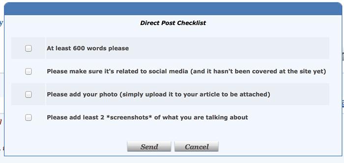 guest post checklist