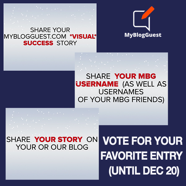 MyblogGuest contest vote