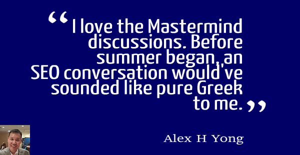 Alex H Yong: Mastermind on Starting out
