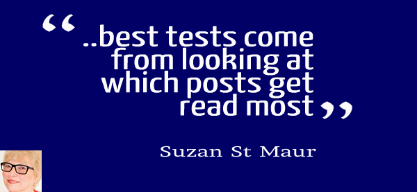 Suzan St Maur: Mastermind on Writing