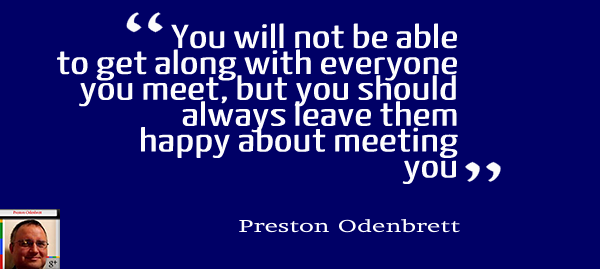 Preston Odenbrett: Mastermind on Networking