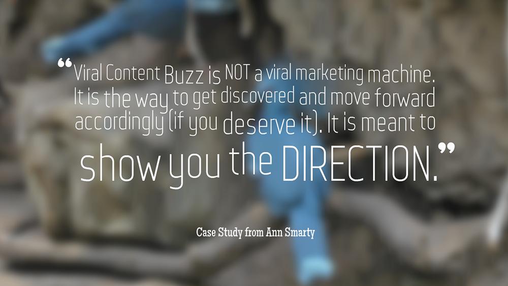 Viral Content Buzz takeaway