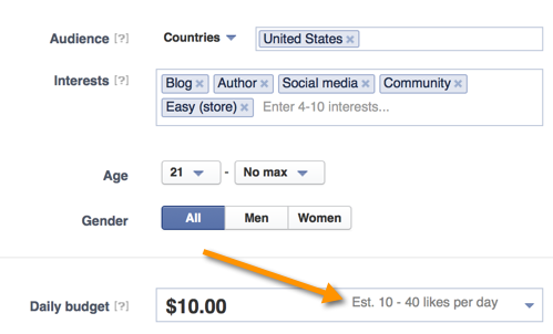 Facebook Ads to Get Page Likes
